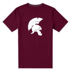 Мужская стрейчевая футболка Spartan helmet