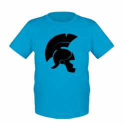 Детская футболка Spartan helmet