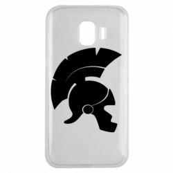 Чехол для Samsung J2 2018 Spartan helmet