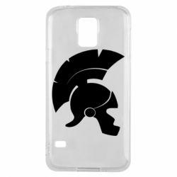 Чехол для Samsung S5 Spartan helmet