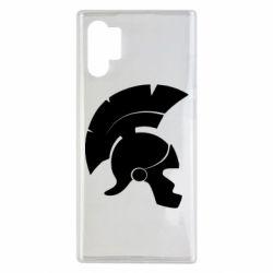 Чехол для Samsung Note 10 Plus Spartan helmet