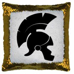 Подушка-хамелеон Spartan helmet