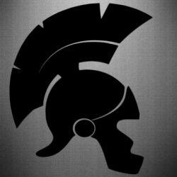 Наклейка Spartan helmet