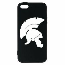 Чехол для iPhone5/5S/SE Spartan helmet
