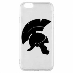 Чехол для iPhone 6/6S Spartan helmet