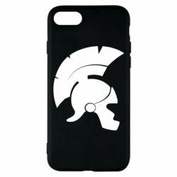 Чехол для iPhone 7 Spartan helmet