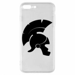 Чехол для iPhone 8 Plus Spartan helmet