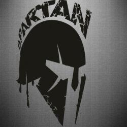 Наклейка Spartan minimalistic helmet
