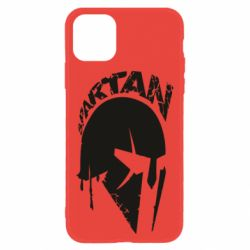 Чехол для iPhone 11 Spartan minimalistic helmet