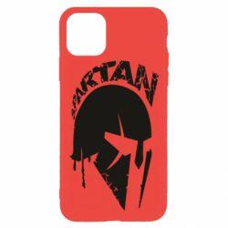 Чохол для iPhone 11 Pro Max Spartan minimalistic helmet