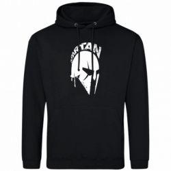 Мужская толстовка Spartan minimalistic helmet