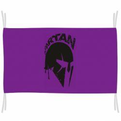 Флаг Spartan minimalistic helmet