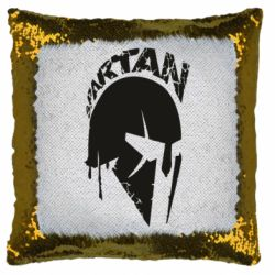 Подушка-хамелеон Spartan minimalistic helmet