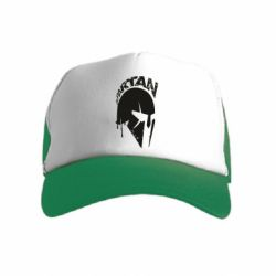 Детская кепка-тракер Spartan minimalistic helmet