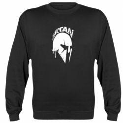 Реглан (свитшот) Spartan minimalistic helmet