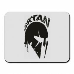 Коврик для мыши Spartan minimalistic helmet