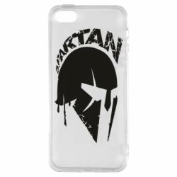 Чехол для iPhone5/5S/SE Spartan minimalistic helmet