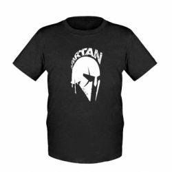 Дитяча футболка Spartan minimalistic helmet