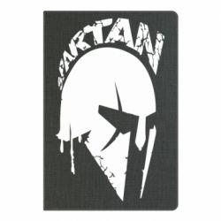 Блокнот А5 Spartan minimalistic helmet