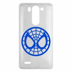 Чехол для LG G3 mini/G3s Спайдермен лого - FatLine