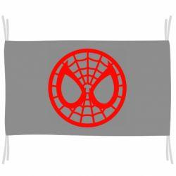 Флаг Спайдермен лого