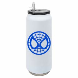 Термобанка 500ml Спайдермен лого