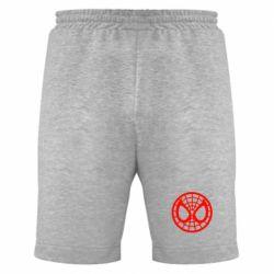 Мужские шорты Спайдермен лого - FatLine