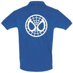 Футболка Поло Спайдермен лого