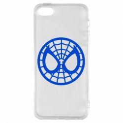 Чехол для iPhone5/5S/SE Спайдермен лого
