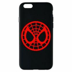 Чехол для iPhone 6/6S Спайдермен лого