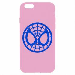 Чехол для iPhone 6 Plus/6S Plus Спайдермен лого