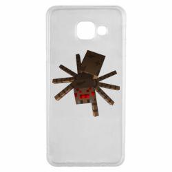 Чехол для Samsung A3 2016 Spider from Minecraft