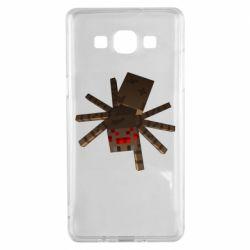 Чехол для Samsung A5 2015 Spider from Minecraft