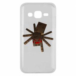 Чехол для Samsung J2 2015 Spider from Minecraft