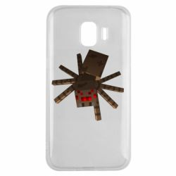 Чехол для Samsung J2 2018 Spider from Minecraft