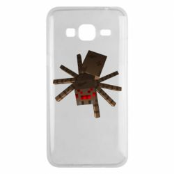 Чехол для Samsung J3 2016 Spider from Minecraft