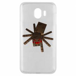 Чехол для Samsung J4 Spider from Minecraft