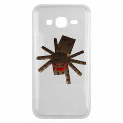 Чехол для Samsung J5 2015 Spider from Minecraft