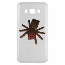 Чехол для Samsung J5 2016 Spider from Minecraft