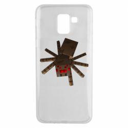 Чехол для Samsung J6 Spider from Minecraft