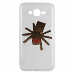 Чехол для Samsung J7 2015 Spider from Minecraft