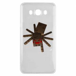 Чехол для Samsung J7 2016 Spider from Minecraft