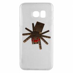 Чехол для Samsung S6 EDGE Spider from Minecraft