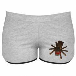 Жіночі шорти Spider from Minecraft