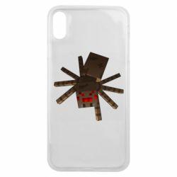 Чехол для iPhone Xs Max Spider from Minecraft