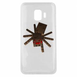 Чехол для Samsung J2 Core Spider from Minecraft