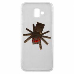 Чехол для Samsung J6 Plus 2018 Spider from Minecraft