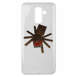 Чехол для Samsung J8 2018 Spider from Minecraft