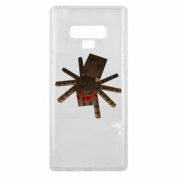 Чехол для Samsung Note 9 Spider from Minecraft