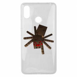 Чехол для Xiaomi Mi Max 3 Spider from Minecraft